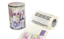 Toaletní papír s potiskem 1000 Kč