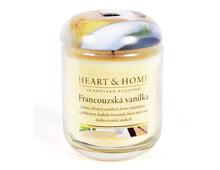 Velká svíčka Heart & Home