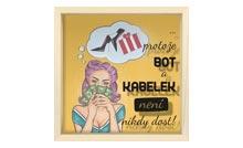 Pokladnička na boty a kabelky