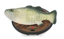 Zpívající a hýbající se ryba