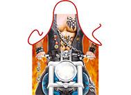 Kuchyňská zástěra - Motorkář