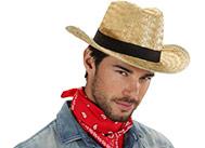 Klobouk slaměný Texas kovboj