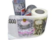 Toaletní papír - 5000 Kč