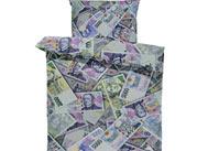 Povlečení - Postel plná peněz