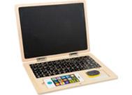 Dřevěný magnetický notebook
