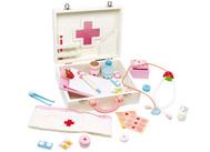Dětský dřevěný doktorský kufřík