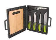 Luxusní sada grilovacích nožů