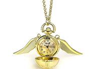 Náhrdelník s hodinkami Zlatonka