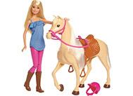 Barbie panenka s koněm