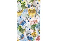 Osuška - bankovky euro