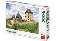 Puzzle 500 dílků - Hrad Karlštejn
