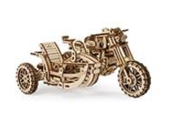 3D dřevěné mechanické puzzle